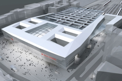 390-New Central Railway Station, Munich 2