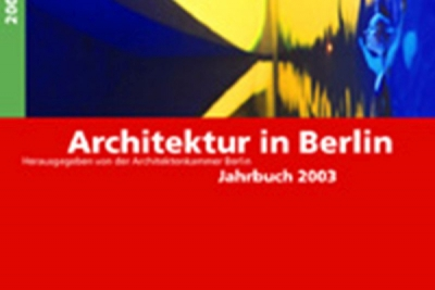 "0290-Frank Peter Jäger (edit.): ""Architektur in Berlin. Jahrbuch 2003"""